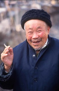 Old man, Tang Kuo, Anhui Province