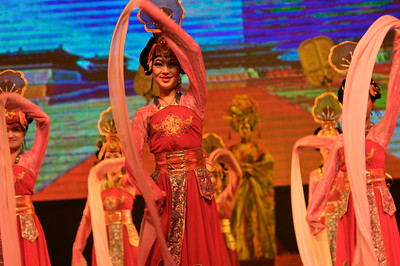 Cultural show in Xi'an China