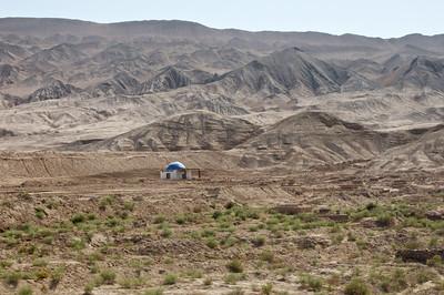 Turpan desert in China