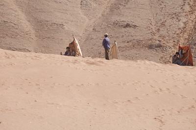 Living below sea level in Turpan desert of China