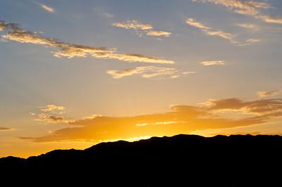 Sunrise in the Gobi