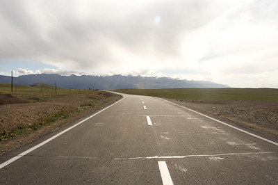 The road from Hami to Yiwu, China