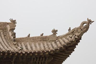 Western end of the Great Wall near Jiayuguan, China