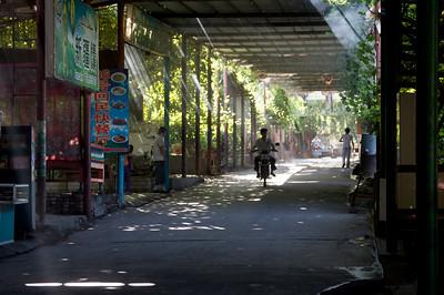 Street scene in the Grape Valley