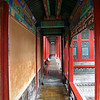 Typical narrow walkway