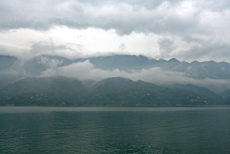 Yangtze near Fengdu
