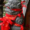 Jade Buddha Temple lion