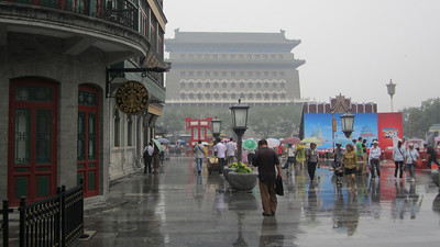 Yep, Starbucks five minutes from Tienanmen Square and the mausoleum of Mao Zedong