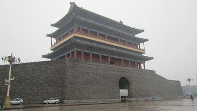 South gate of Tienanmen Square, seen from the inside