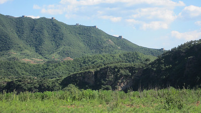 Great Wall from the highway to Chengde