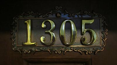 Apartment number on Jim's door in Beijing
