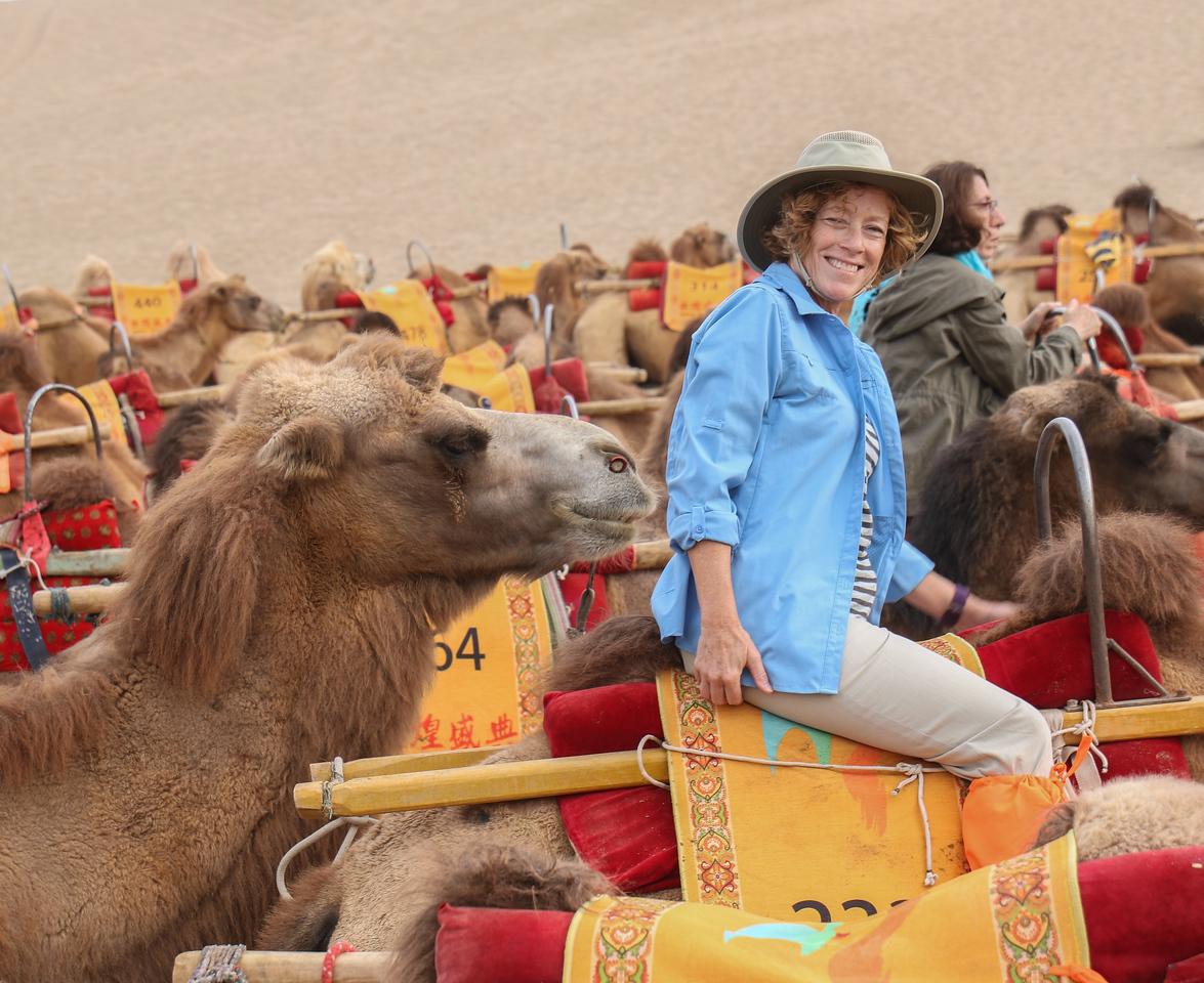Dunhuang Camel Ride