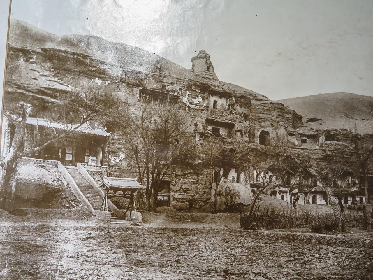 Magao Caves ca. 1900
