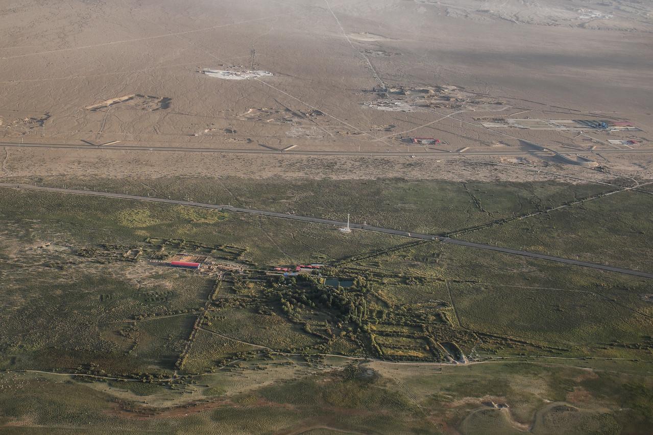 Approaching Dunhuang Oasis