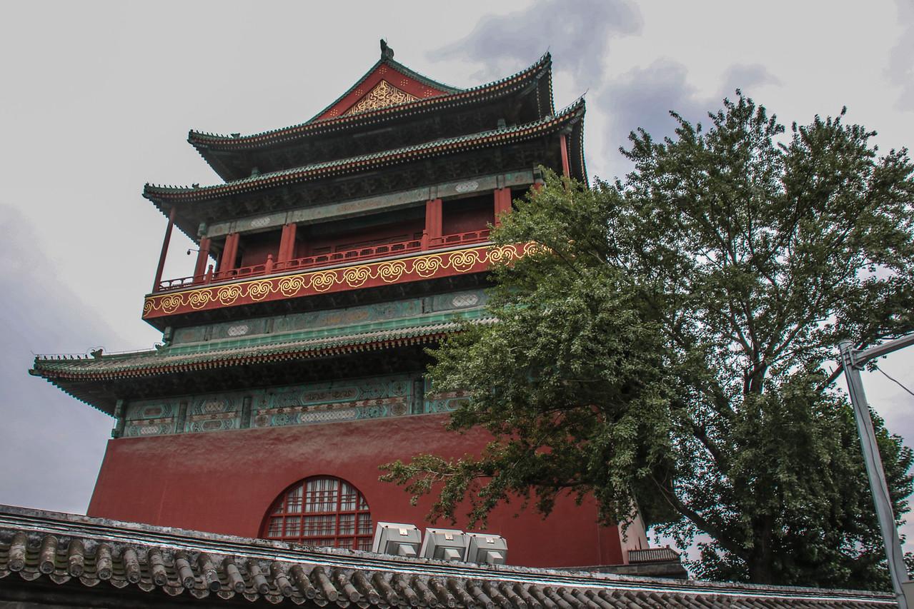 Beijing Drum Tower (15C)