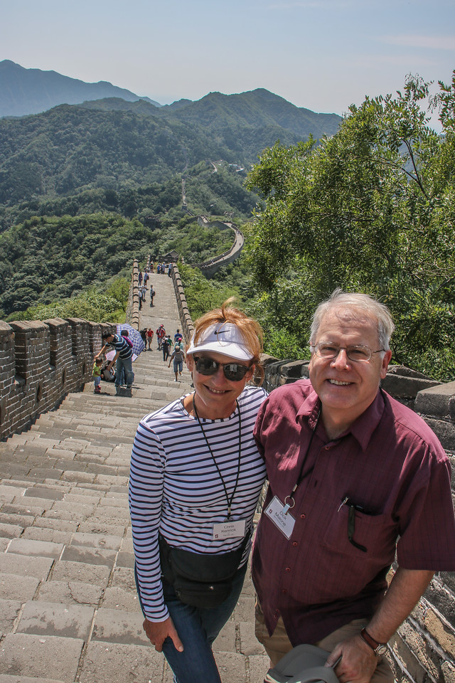 Chris & Dick on the Great Wall