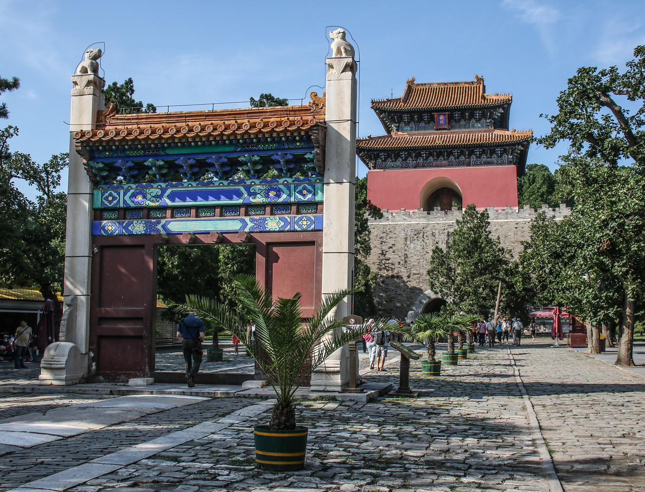 The Ming Dynasty Tombs (14-17C)