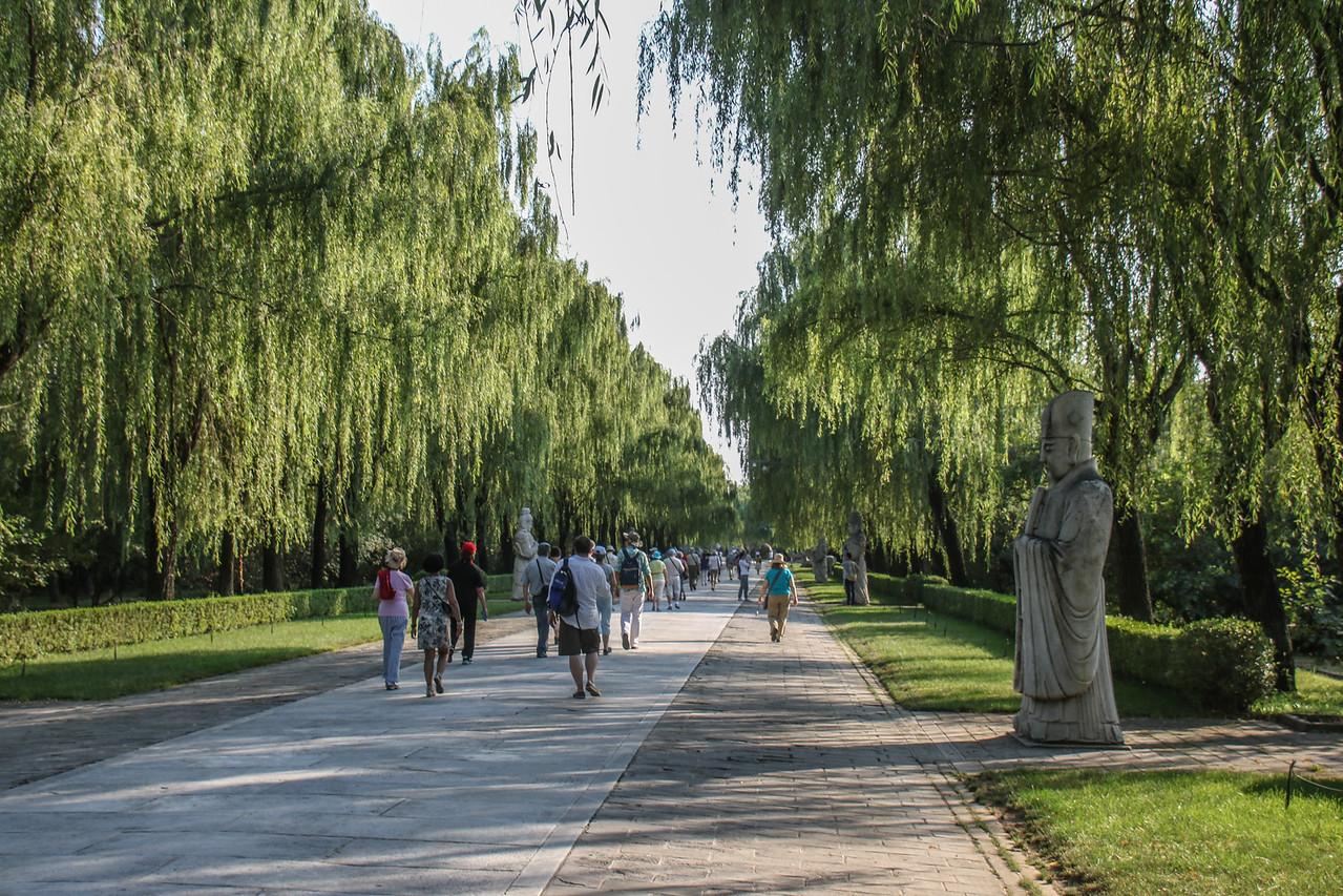 """Spirit Way"" of the Ming Tombs"