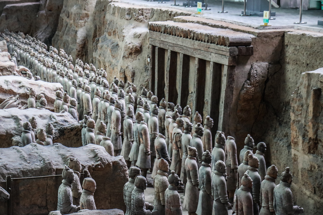 Terracotta Warriors Necropolis (3C BCE)