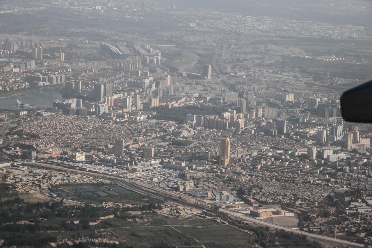 Urumqi-Kashgar Flight
