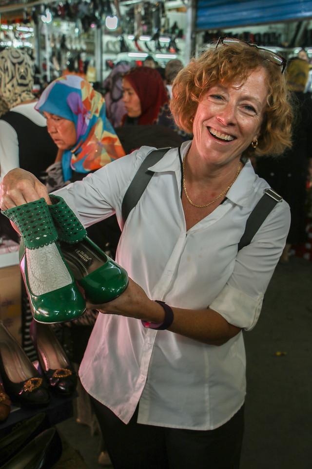 Jan's Emerald Slippers