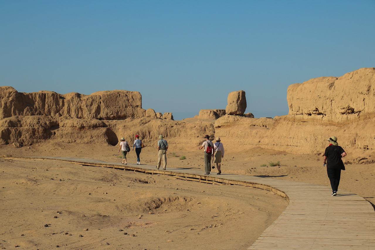 """""""Khan Fort"""" in Gaochang Ruins"""
