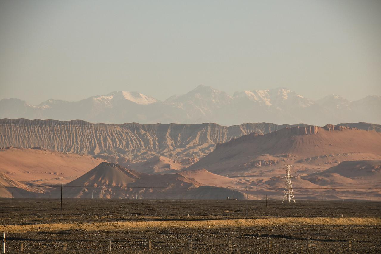 """""""Flaming Mountains"""" of Tian Shan Range"""