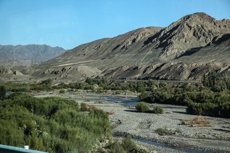 Bus Ride from Turpan to Urumqi