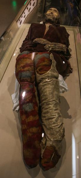 """Caucasoid"" Mummy from the Tarim Basin"