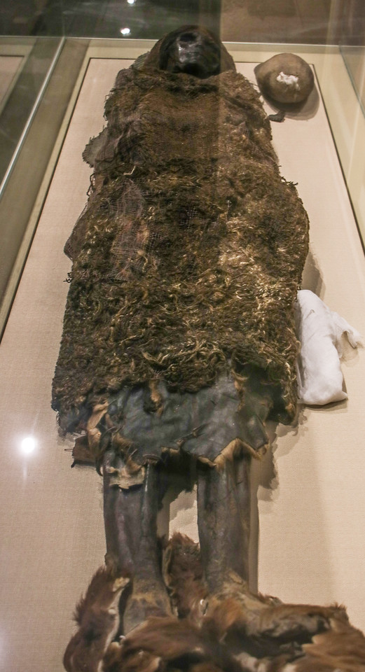 """Caucasoid"" Mummy from the Tarim Basin"