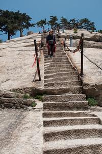 Heading to another peak