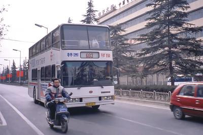 Xian Bus A01417 Mar 98_Ankai HFF6100BK