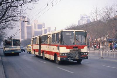 Beijing Bus A97394 Mar 98_Huayu BD562 and Huayu BJD6140