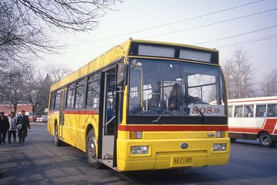 Beijing Bus AZ1085 Mar 98_Huanghai DD6121HS