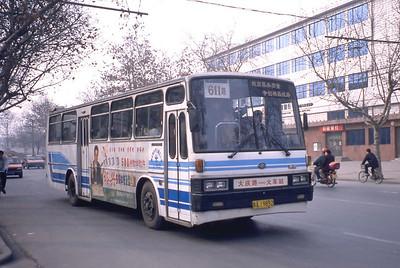 Xian Bus A19892 Mar 98_Huanghai DD6112H1S