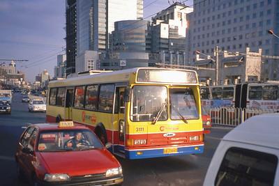 Beijing Bus AZ0660 Mar 98_ChangJiang Flxible CFC6100GD