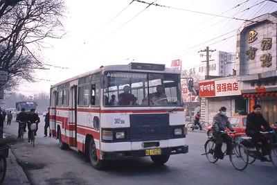Xian Bus A18323 Mar 98_Xian XA132A