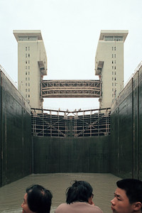 Gezhouba Dam, Hubei Province, 1995