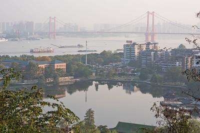 Yingwuzhou Yangtze River Bridge, Wuhan