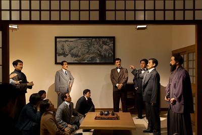 Diorama of Tongmenhui Meeting, 1911 Revolution Museum, Wuhan