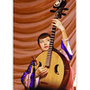 Chinese guitar 'Ruan', Xi'an