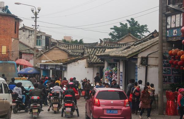 Traffic, Jianshui, Yunnan Province