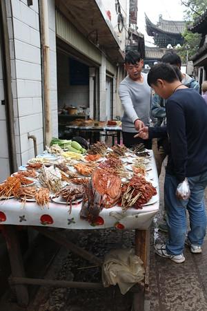 Jianshui Street Vendor
