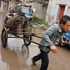 Transporting Water, Yunnan Village