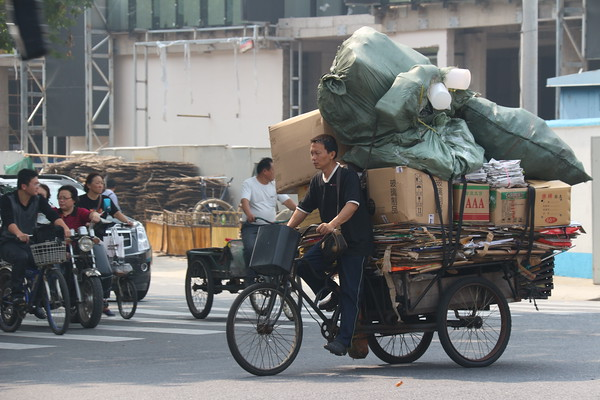 Recycling in Shanghai
