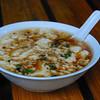 四川的豆腐花(酸酸辣辣的)