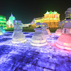 Chess on ice at the Ice and Snow Festival.