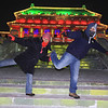 Chen Xuan and Dan Kallman pose in front of the Forbidden City.