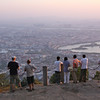 Watching the sunset over Quanzhou from atop Qingyuan Mountain