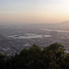 Panoramic of the view from atop Qingyuan Mountain